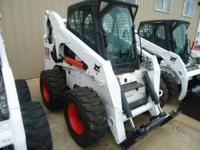 2006 Bobcat S250 cab/heat/ac high-flow 2-speed 12-16.5