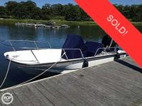 This vessel was SOLD on December 10. 2006 Boston Whaler