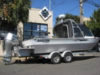 2006 BOULTON 22' SEA SKIFF WITH Honda Motors -- Deluxe