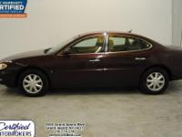 iDriveCertified.com This 2006 Buick LaCrosse CX offers