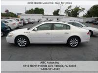 Buick Lucerne CXS 4dr Sedan Automatic 4-Speed White