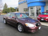 ONE OWNER 2006 BUICK LUCERNE CXL,V6, SUNROOF, LEATHER,