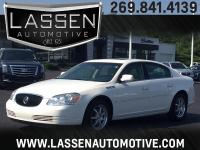Options:  2006 Buick Lucerne 4D Sedan Cxl|White|Air