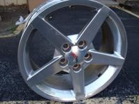 Here is a set of rims [4] off my 2006 corvette. These