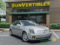 This is a 2006 Cadillac CTS with Luxury Package, Heated