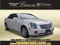 CARFAX 1-Owner, Extra Clean. CTS trim. Moonroof, Heated