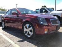 Come see this 2006 Cadillac CTS SPRT. Its transmission