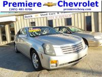 Options:  2006 Cadillac Cts Sprt|Silver/|V6 3.6L |99143