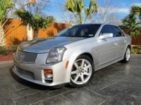 2006 CADILLAC CTS-V This CTS-V is equipped with the