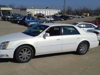 2006 Cadillac DTS 4 Door Exterior- Pearl White.