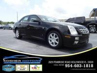Options:  2006 Cadillac Sts V6 4Dr Sedan|Black|No
