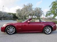 This 2006 Cadillac XLR Hard top convertible is