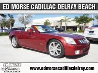 Hardly Driven!      This 2006 Cadillac XLR is a great