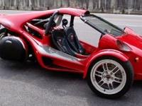 Campagna T-Rex ZX-12 that is in mint condition, Red