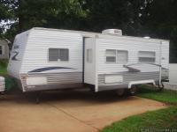 This 29 ft. camper sleeps 8 and has a 16 ft. super