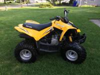 2006 Can-Am DS70 Less than 20 hours Electric Start and