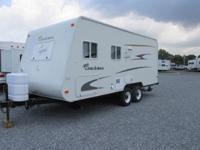 2006 Capri by Coachmen model 210DB. This camper is 23'