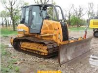 2006 CASE 850KII, 200 miles, Enclosed taxi, 5 shank