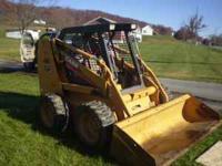 2006 Case Skid Steer 800 hrs 107 Horsepower Foamed