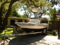 2006 Century 1902 Bay Boat. Second owner. 4-stroke