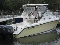 Great condition - Kept on boat lift. Twin Yamaha 200hp