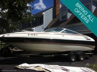Freshwater Bayliner 2858 Command Bridge marketed! Lots