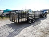 2006 CHAMPION TRAILER FOR SALE LENGTH: 18 FT . WIDTH: 7