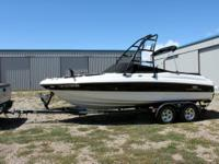 Made use of 2006 Chaparral 210 SSI. I bought this boat