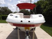 Dual Prop, very clean, nice matching trailer w spare,