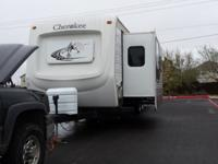 34 ft travel trailer by Forest River (Cherokee wolf)