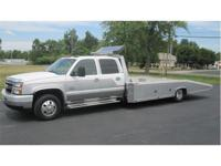 2006 Chevrolet Crew Cab Car Hauler with only 65,000