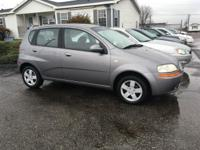 Options:  2006 Chevrolet Aveo Ls 4Dr