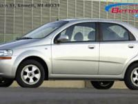 Options:  2006 Chevrolet Aveo 4Dr Sdn Ls|4 Cylinder