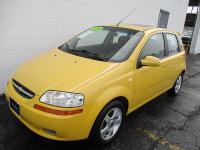Options:  2006 Chevrolet Aveo 5D Hatchback