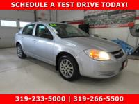 Silver 2006 Chevrolet Cobalt LS FWD 4-Speed Automatic