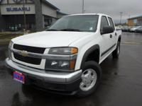 Options:  2006 Chevrolet Colorado Lt|White|3.73 Rear