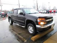 Very sharp 2006 Chevrolet Colorado LT 4x4 crew cab in