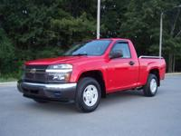 Options Included: 2006 Chevrolet Colorado Regular Cab