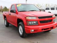Clean CARFAX. This 2006 Chevrolet Colorado Work Truck