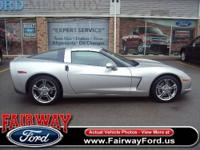 This 2006 Chevrolet Corvette 2dr 2dr Cpe Coupe features