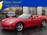 Exterior Color: red, Body: Convertible, Engine: 6.0L V8