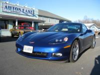 Absolutely gorgeous, extra low mileage Corvette coupe!