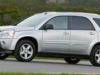 2006 Chevrolet Equinox LT. AWD. Silver Bullet! Hurry