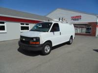 2006 Chevrolet Express 2500 Work Van with Bin package,