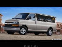 This 2006 Chevrolet Express Passenger 3500 155 WB RWD