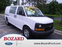 2006 Chevrolet 2500 Express Ext. cargo van with 155