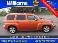 Options:  2006 Chevrolet Hhr Lt Orange Clean Vehicle