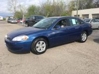Options:  2006 Chevrolet Impala Lt 4Dr Sedan