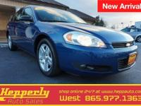 Featuring is our 2006 Chevrolet Impala. The impala is