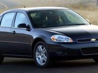 2006 Chevrolet Impala LTZ Black Recent Arrival! CARFAX
